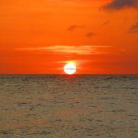 南国・与論島の海の中(3)と夕日