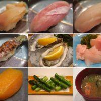 函館・木はらで寿司を楽しむ