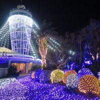 江の島のイルミネーション「湘南の宝石」